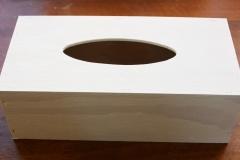 Krabička natřená